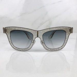 Balenciaga Bubble Oversized Frame Sunglasses